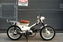 Going Postal / Prospective Honda CT110 build.