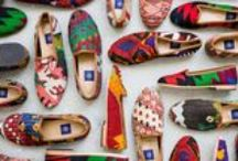Res Ipsa Unique Footwear / Loafers in the British dress slipper tradition, made from vintage Turkish kilim.