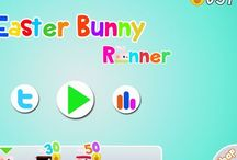 Easter Egg Bunny Runner / Play this beautiful game and collect the eggs  For young and old...