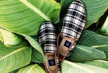 """Men's Kilim Loafers / """"A more interesting question is 'What color shoes should I wear?' Dullsville is a place where they only wear black and brown shoes.""""  -- Glenn O'Brien, The GQ Guide to Men's Shoes, April 2012."""