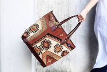Kilim Bags / Keep your powder, your trout flies and your martinis dry. -- Madison Avenue Rod, Gun, Bloody Mary & Labrador Retriever Benevolent Association motto