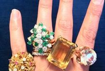 Gem Hunt Rings - Fine Jewelry / Fine Jewelry rings from Gem Hunt (jewelry bloggger) Travels - vintage and new diamond and other gemstone rings