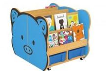 Library Cartoon Book shelf