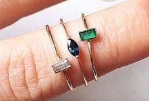 Minimalist Fine Jewelry / Minimalist style fine jewelry