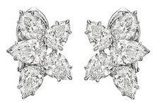 Diamond Earrings / Diamond earrings from Gem Hunt