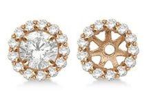 Diamond Earring Jackets / diamond jackets for earrings