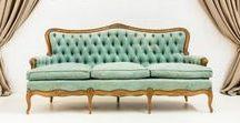 Upholstered furnitures - Vintage rentals by Memorias del Ayer