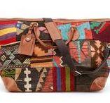 Kilim Weekender Bags / Travel this weekend. Travel with kilim. Travel with style. Travel with us. #OurBrandisTravel #ResIpsa