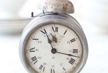 Old clocks & keys