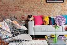 Interior Design / Home Decor. / Lines, lines, lines. Color. Chic. Enough said? / by Jourdan Rystrom