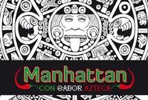 Manhattan, con Sabor Azteca