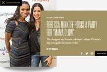 Mama Glow Press Clips / A sampling of press clips about Latham Thomas & Mama Glow