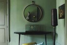 Eclectic and interesting interiors