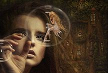 Pam's: Fairies, Myth & Make-believe (or not)... / by Pennie & Pam