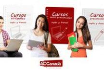 Cursos / Haz parte de la comunidad de estudiantes de ACCanadá, inscribiéndote a uno de sus cursos. Enseñamos inglés y francés en todas las modalidades.