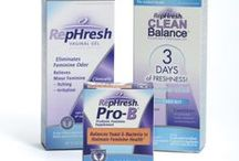 RepHresh Products / The RepHresh Family of Products: RepHresh Gel, RepHresh Pro-B and RepHresh Clean Balance