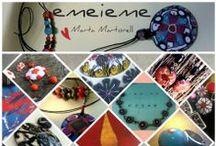 Habitación de emeieme / emeieme son las iniciales de mi nombre y apellido. Soy una fanática de la arcilla polimérica y me encanta crear complementos con este material.