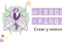 Habitación de Missoluciones-Pángala / Crear y reinventar desde tu sala de estar: blog con tutoriales que siempre salen, reciclaje creativo, costura para dummies, colaboraciones y sonrisas garantizadas.