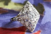 Diamond Rings | Vintage Rings | / Diamond Rings, Antique Diamond Rings, Antique Gemstone Rings, Vintage Rings, Rings - For Sale & Up-To-Date listings