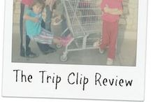 Reviews & Giveaways / Reviews are from mom bloggers and home schoolers who used The Trip Clip® with their own kids.