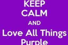 purple/pink things