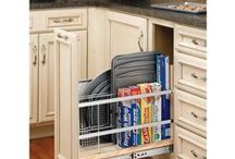 Cabinet Accessories / Kitchen and bath cabinet accessories
