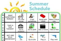 Summer with the Kids / Activities, learning opportunities, travel tips, and sanity savers for summer vacation