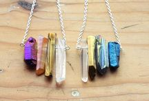 Crystal Jewelry / My ultimate wish list! ✨ / by Jourdan Rystrom