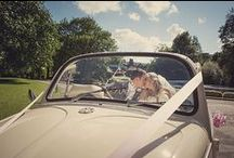 Wedding Transport / Whether they arrive at East Riddlesden Hall on a bike, a tractor, in a DeLorean or in a classic sports car you'll find their photos here!