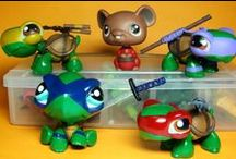 LPS OOAK Custom Littlest Pet Shop Toys / Custom Littlest PEt Shop Toys OOAK, Custom designed LPS hasbro figures
