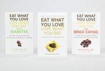 Books by Michelle May, MD / Michelle May MD, the founder of the Am I Hungry? Mindful Eating Program, is the award-winning author of numerous books and workbooks that help individuals break free of mindless and emotional eating without restrictive dieting and deprivation. Her books help people who struggle with  weight management, chronic yoyo dieting, prediabetes and diabetes self-management, pre- and post-bariatric surgery problems, binge eating, and other eating-related issues.  / by Am I Hungry? Mindful Eating Programs