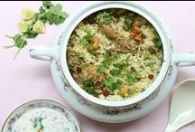 Rice recipes - Spice Counter / Pulav, Biriyani, fried rice and more!