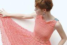 Szydełkowe sukienki / szydełkowe sukienki, crochet dress