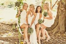 WEDDINGS - Bridesmaids / Inspiration for bridesmaids dresses, hairstyles, jewellery shoes and gifts.