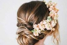 WEDDINGS - Wedding Hair & Makeup / Taking inspiration from international hair and beauty trends, this board will feature inspiration for brides, bridemaids and mothers.