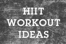 Get Sweaty HIIT Pinspiration / Leading an active life means getting your heart-rate up, burning some calories and working a sweat!  Here's some motivation & tips for HIIT workouts--