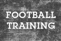 Football Training / Games are won during practice.  Train hard.