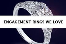 Engagement Rings We Love / A board packed full of the latest engagement themes, ideas and, of course - our favorite, engagement ring styles!