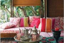 Bohemians / Bohemian Style gardens and inspiration