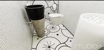 ARTISTIC MOSAICS / Hand-chiseled artisti mosaics, with decorations made by water-jet cutting.