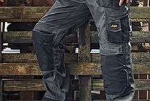Work Trousers For Extreme Performance / When you're working hard, you need trousers that offer functionality, comfort and can take a beating. Check out the broad range of work trousers from Snickers Workwear.