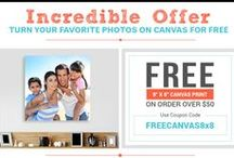 Canvas Prints Offers / Check out Special Offers of Canvas Prints from Canvas Champ! Huge Discount and Amazing offers on your favorite size canvas