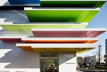 ARCHITECTURE | Shapes & Colors / Modern architecture