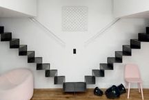 INTERIORS | Stairs / Stairs and staircases Escaliers, cages d'escaliers, balustrade