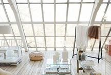 INTERIORS | Mansarde / Mansarde, attic, loft / by Karolina S - K