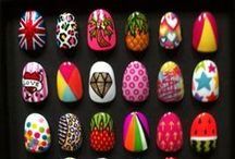 Nails / Nail art designs that I love and at some point I will try. A few photos are of my own nail arts and these are clearly labeled.   / by Cassie Chadbone