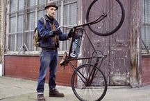 Bike Fashion / Fashionable people and their two wheelers: bikes, bicycles, motorcycle, Vespas, etc. / by Eduard Lucas