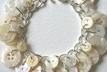Biżuteria  pasmanteryjna / jak zrobić ozdoby do noszenia z materiałów pasmanteryjnych