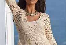 Szydełko, druty: do noszenia / sweterki, swetry, bluzeczki, spódniczki , sukienki