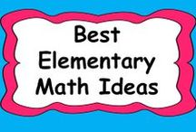 * Best Elementary Math Ideas and Resources / Let's fill this board with all of the best math lessons and ideas! Feel free to pin products both free and paid as well as anything else that would be fun to try out in the classroom!  If you would like to join: let me know on this thread http://www.teacherspayteachers.com/forum/viewtopic.php?id=40871